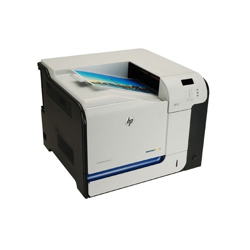 پرینتر لیزری رنگی HP LaserJet M551dn عکس 3