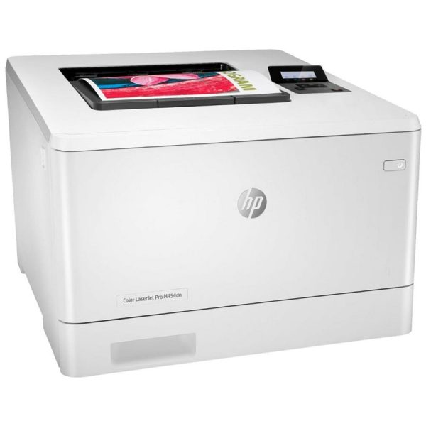 پرینتر لیزری رنگی HP LaserJet Pro M454dw عکس 1