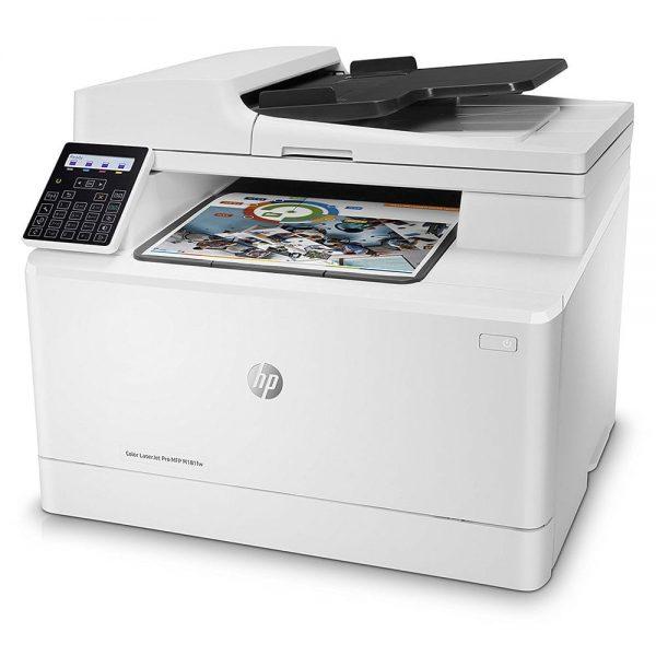 پرینتر چندکاره رنگی HP LaserJet Pro MFP M181fw عکس 2