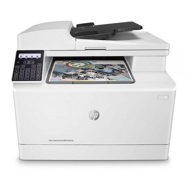 پرینتر چندکاره رنگی HP LaserJet Pro MFP M181fw