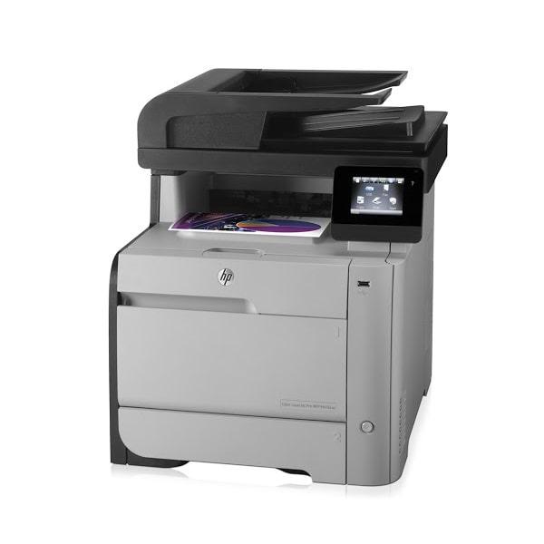 پرینتر چندکاره رنگی HP LaserJet Pro MFP M476nw عکس 2