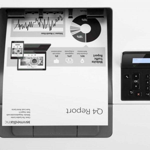 پرینتر لیزری HP LaserJet M501n عکس 3