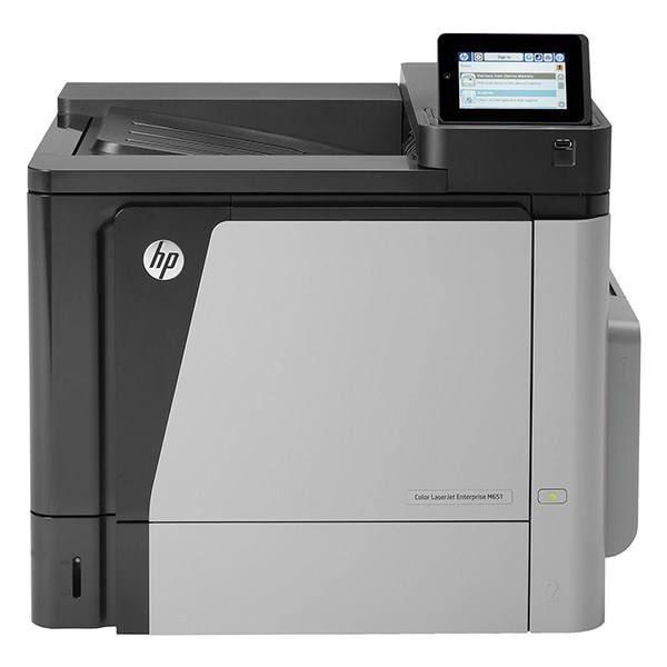 پرینتر لیزری رنگی HP LaserJet M651n عکس 1